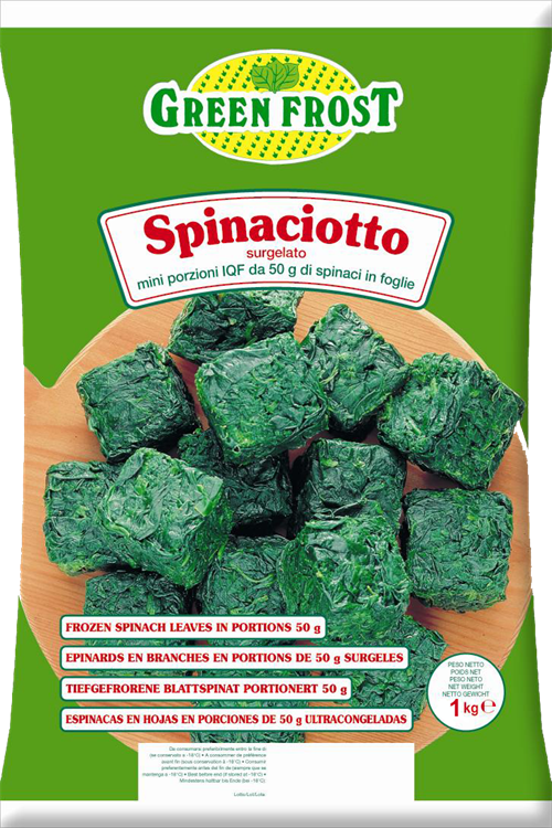 SPINACIOTTO GREEN FROST KG.1
